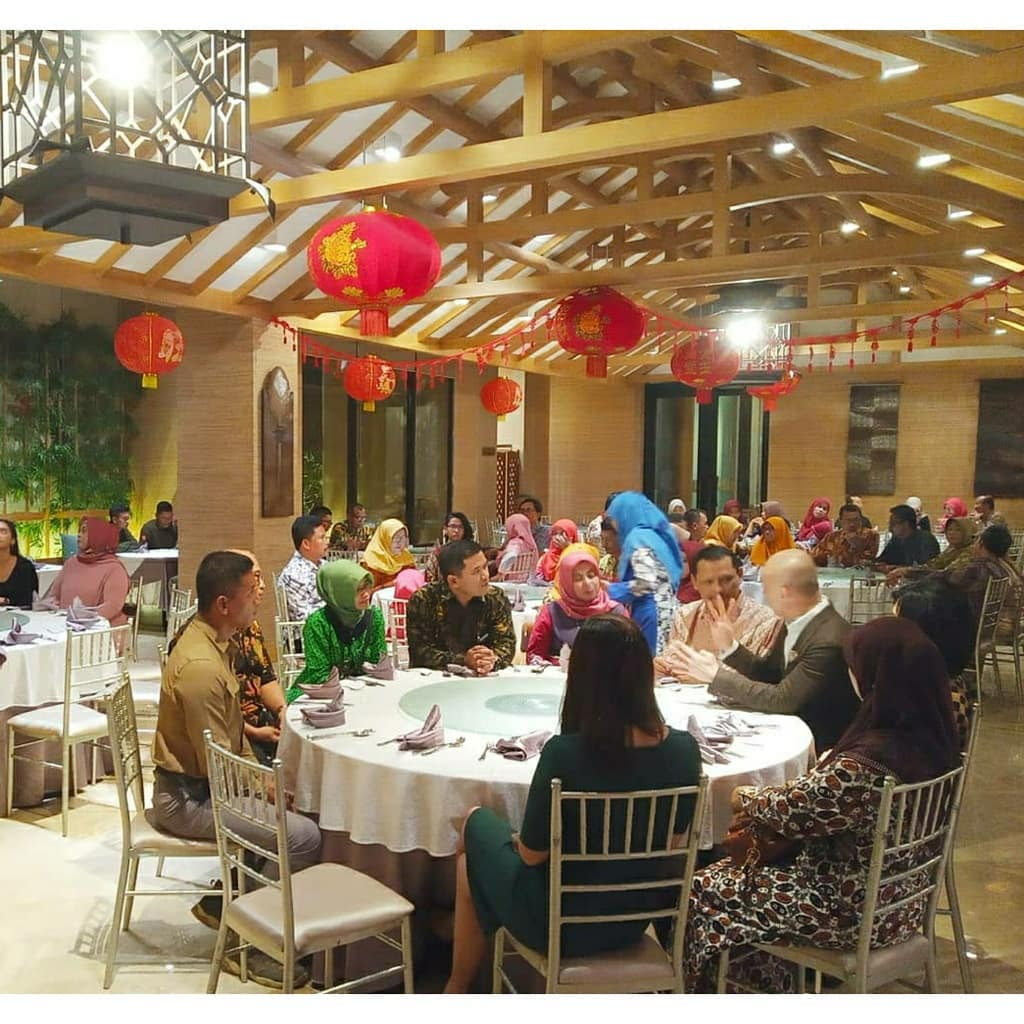 Ramah tamah dan dinner SMKN 2 Yogyakarta dengan PT Cipta Futura