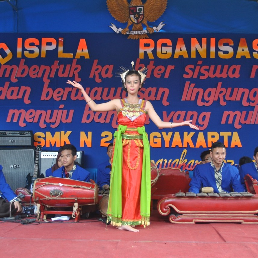 Display Organisasi : Kesenian Tari