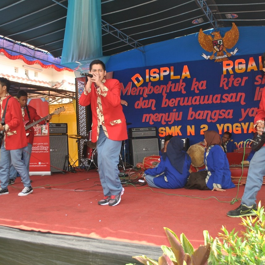 Display Organisasi : Band