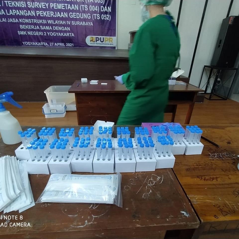 Swab test uji kompetensi PUPR 6