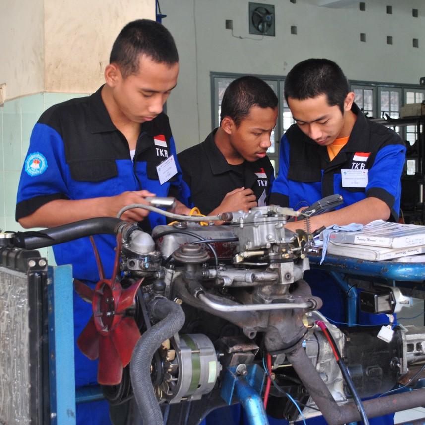 Struktur Organisasi Jasa Desain Bangunan: SMK 2 Yogyakarta