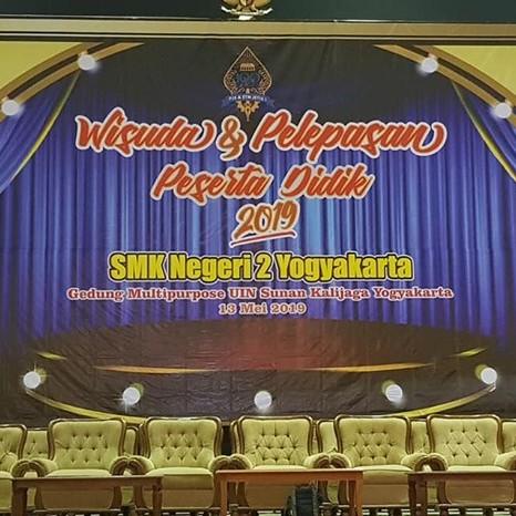 Wisuda Siswa Siswi Kelas XII SMK Negeri 2 Yogyakarta Tahun 2019